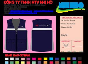 Mẫu thiết kế áo Ghilê